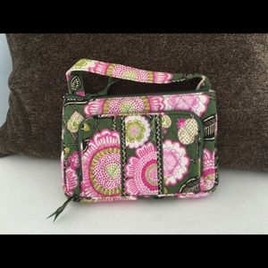Retired Vera Bradley Pattern Olivia Pink Purse